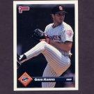 1993 Donruss Baseball #154 Greg W. Harris - San Diego Padres