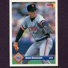 1993 Donruss Baseball #145 Kurt Knudsen - Detroit Tigers