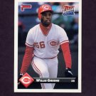 1993 Donruss Baseball #143 Willie Greene - Cincinnati Reds
