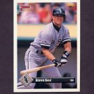 1993 Donruss Baseball #123 Steve Sax - Chicago White Sox