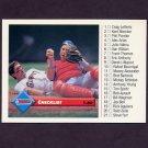 1993 Donruss Baseball #122 Gary Carter / Kirt Manwaring / Checklist 1-80