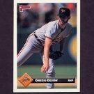 1993 Donruss Baseball #117 Gregg Olson - Baltimore Orioles