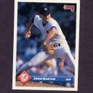 1993 Donruss Baseball #107 John Habyan - New York Yankees