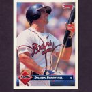 1993 Donruss Baseball #078 Damon Berryhill - Atlanta Braves