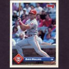 1993 Donruss Baseball #068 Dave Hollins - Philadelphia Phillies