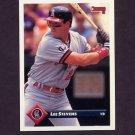 1993 Donruss Baseball #065 Lee Stevens - California Angels