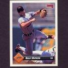 1993 Donruss Baseball #059 Billy Ripken - Baltimore Orioles