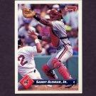 1993 Donruss Baseball #039 Sandy Alomar Jr. - Cleveland Indians