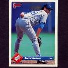 1993 Donruss Baseball #034 Steve Wilson - Los Angeles Dodgers