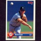 1993 Donruss Baseball #021 Steve Farr - New York Yankees