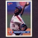 1993 Donruss Baseball #014 Anthony Young - New York Mets