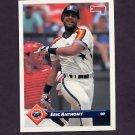 1993 Donruss Baseball #008 Eric Anthony - Houston Astros