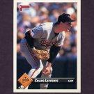 1993 Donruss Baseball #001 Craig Lefferts - Baltimore Orioles