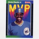 1989 Donruss Baseball Bonus MVP's #BC25 Alvin Davis - Seattle Mariners