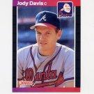 1989 Donruss Baseball #650 Jody Davis - Atlanta Braves