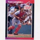 1989 Donruss Baseball #639 Tom Lampkin - Cleveland Indians