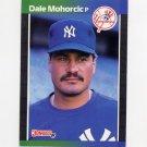 1989 Donruss Baseball #630 Dale Mohorcic - New York Yankees