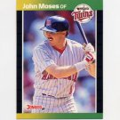 1989 Donruss Baseball #626 John Moses - Minnesota Twins