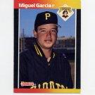 1989 Donruss Baseball #622 Miguel Garcia - Pittsburgh Pirates