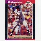 1989 Donruss Baseball #615 Tim Laudner - Minnesota Twins
