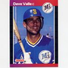 1989 Donruss Baseball #614 Dave Valle - Seattle Mariners