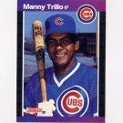 1989 Donruss Baseball #608 Manny Trillo - Chicago Cubs