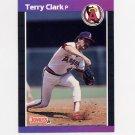 1989 Donruss Baseball #607 Terry Clark - California Angels
