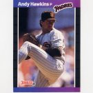 1989 Donruss Baseball #583 Andy Hawkins - San Diego Padres