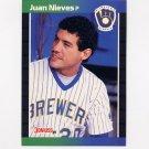 1989 Donruss Baseball #575 Juan Nieves - Milwaukee Brewers