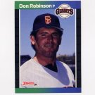 1989 Donruss Baseball #571 Don Robinson - San Francisco Giants