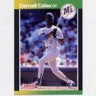 1989 Donruss Baseball #566 Darnell Coles - Seattle Mariners