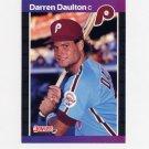 1989 Donruss Baseball #549 Darren Daulton - Philadelphia Phillies