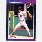 1989 Donruss Baseball #548 Greg A. Harris - Philadelphia Phillies