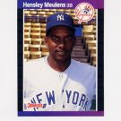 1989 Donruss Baseball #547 Hensley Meulens RC - New York Yankees