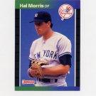 1989 Donruss Baseball #545 Hal Morris RC - New York Yankees ExMt