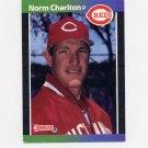 1989 Donruss Baseball #544 Norm Charlton RC - Cincinnati Reds