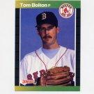 1989 Donruss Baseball #539 Tom Bolton - Boston Red Sox