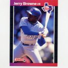 1989 Donruss Baseball #529 Jerry Browne - Texas Rangers
