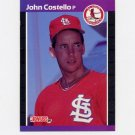 1989 Donruss Baseball #518 John Costello - St. Louis Cardinals ExMt