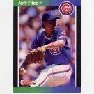 1989 Donruss Baseball #513 Jeff Pico - Chicago Cubs