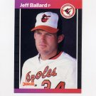 1989 Donruss Baseball #495 Jeff Ballard - Baltimore Orioles