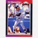 1989 Donruss Baseball #494 Kirt Manwaring - San Francisco Giants
