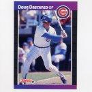 1989 Donruss Baseball #491 Doug Dascenzo - Chicago Cubs