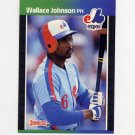 1989 Donruss Baseball #484 Wallace Johnson - Montreal Expos