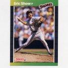 1989 Donruss Baseball #482 Eric Show - San Diego Padres
