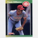 1989 Donruss Baseball #478 Frank Williams - Cincinnati Reds