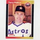 1989 Donruss Baseball #472 Terry Puhl - Houston Astros