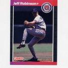1989 Donruss Baseball #470 Jeff M. Robinson - Detroit Tigers