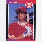 1989 Donruss Baseball #469 Jeff Reed - Cincinnati Reds