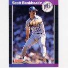 1989 Donruss Baseball #463 Scott Bankhead - Seattle Mariners